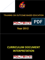 Curriculum Interpretation