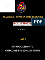 UNIT 1 OBE Introduction