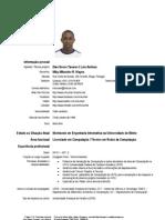 CV Luis Amilcar Simples