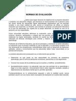 Reglamento de Evaluación 2