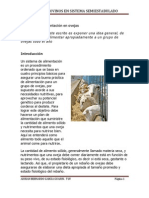 Sistemas de alimentación en ovejas