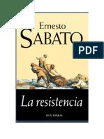 Sabato, Ernesto - La Resistencia