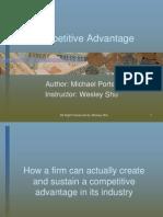 Michael Porters Competitive Advantage 6110