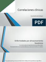 Correlaciones clínicas