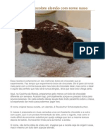 54067153 Russischer Schokoladenkuchen Bolo de Chocolate Alemao
