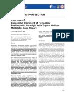 Bernstein Pain Medicine 2012