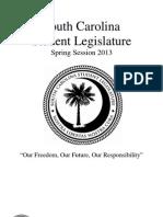 scsl spring 2013 bill book