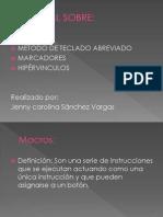 Tutorial Jenny Carolina Sanchez