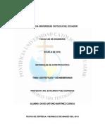 Monografía De Geotextiles y geomembranas