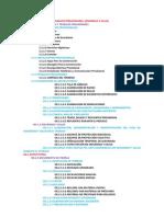 Nomenclatura Basica de Partidas en Edificacion