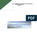 FUNDAMENTOS DE MATEMÁTICAS CIU( UNIDAD 3)
