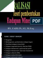 Materi Kuliah Mineralisasi i Ii1