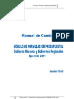Manual Cambios V104