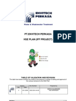 Hse Management Plan Iff