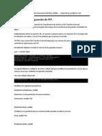 Configuracion Ftp