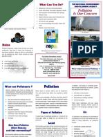 Pollution - Brochure