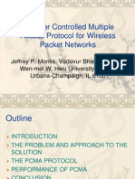 A Power Controlled Multiple Access Protocol for Wireless