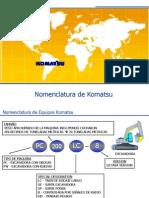 1a. Nomenclatura de Equipos Komatsu