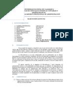 Sylabo Mercadotecnia UNC