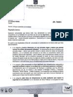 Respuesta de la Secretaría de Planeación al comunicado sobre Movilidad Sostenible en Envigado