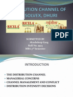 Distribution Channel AP Solvex