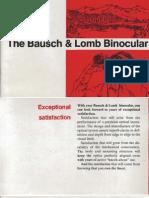 Bausch & Lomb 9 x 35 Binoculars