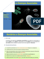 Bacterias e Doencas Associadas