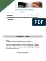 Clase 3 Mat100