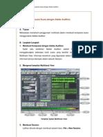 Membuat Komposisi Suara Dengan Adobe Audition