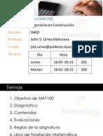 PRESENTACIÓN MAT100-046D