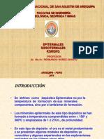 Yacimientos Epitermales (Fer.)