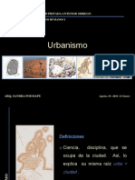 URBANISMO 1° Clase