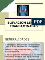 ELEVACION TRANSAMINASAS