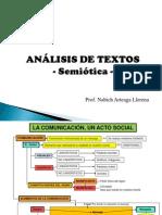 Discurso Argumentativo - Analisis de Textos Simoticos