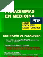 Paradigmas en Medicina