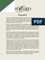 Tocadéo - Biographie