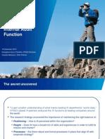 WorldClass Internal Audit Function
