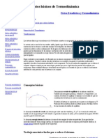 Conceptos básicos de Termodinámica