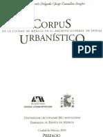 Corpus Urbanístico de la Ciudad de México en el Archivo General de Indias