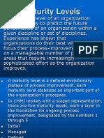 Organization Maturity Levels