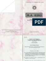 RA 8292 - Higher Education Modernization Act of 1997