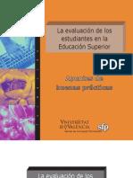 La evaluacion estudiantes en la ESuperior UV.pdf