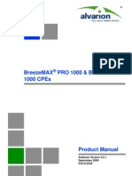 BreezeMAX PRO 1000 and Si 1000 CPEs_Ver.2.5.1_Product Manual_090907