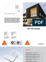 Sika Site Essentials 20pp DL