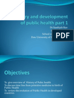 The History and Development of Public Health Part1