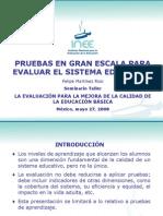 Pruebas Para Evaluar Sistema Mexico 2008