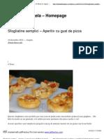 Sfogliatine semplici – Aperitiv cu gust de pizza _ Il Menu di Angela - Homepage