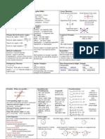 Formula Sheet Geometry