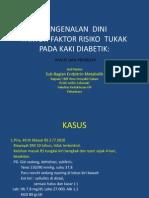 Pengenalan Dini Faktor Risiko Ulkus, 2011