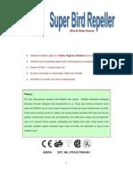 Technical _write Up_ultrasonic Bird Repeller Model _jwp-315